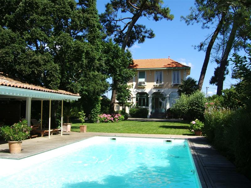 Location villa et appartement arcachon cap ferret - Location maison piscine arcachon ...
